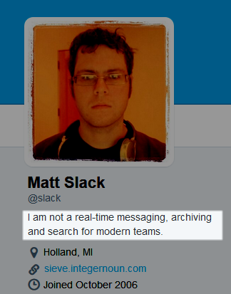 I am not SlackHQ